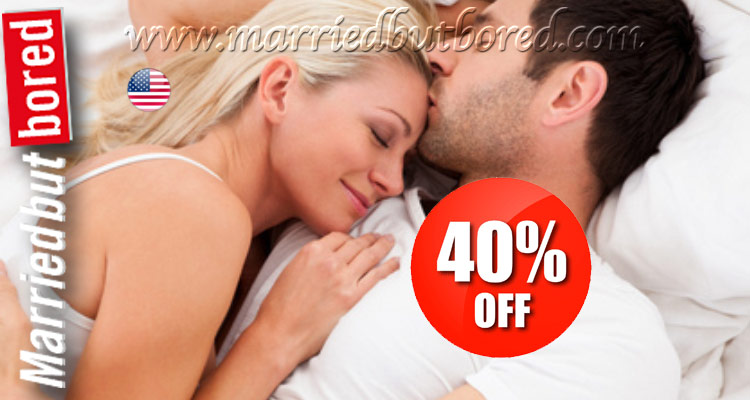 Find a naughty affair with 40% off our membership